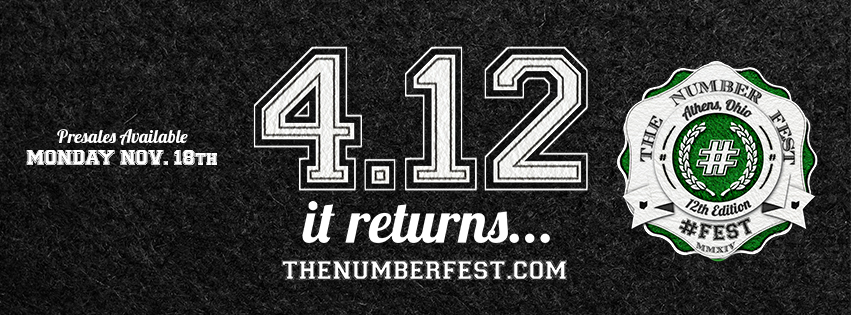 12fest tickets go on sale November 18