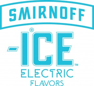 Smirnoff Electric Logo Blue
